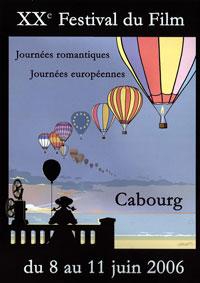L'affiche du festival du film de Cabourg 2006